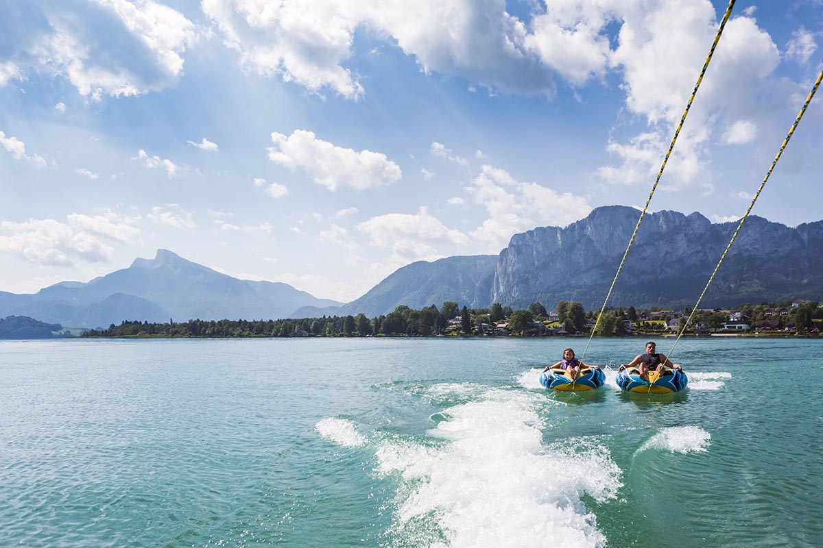 Wassersport am Mondsee